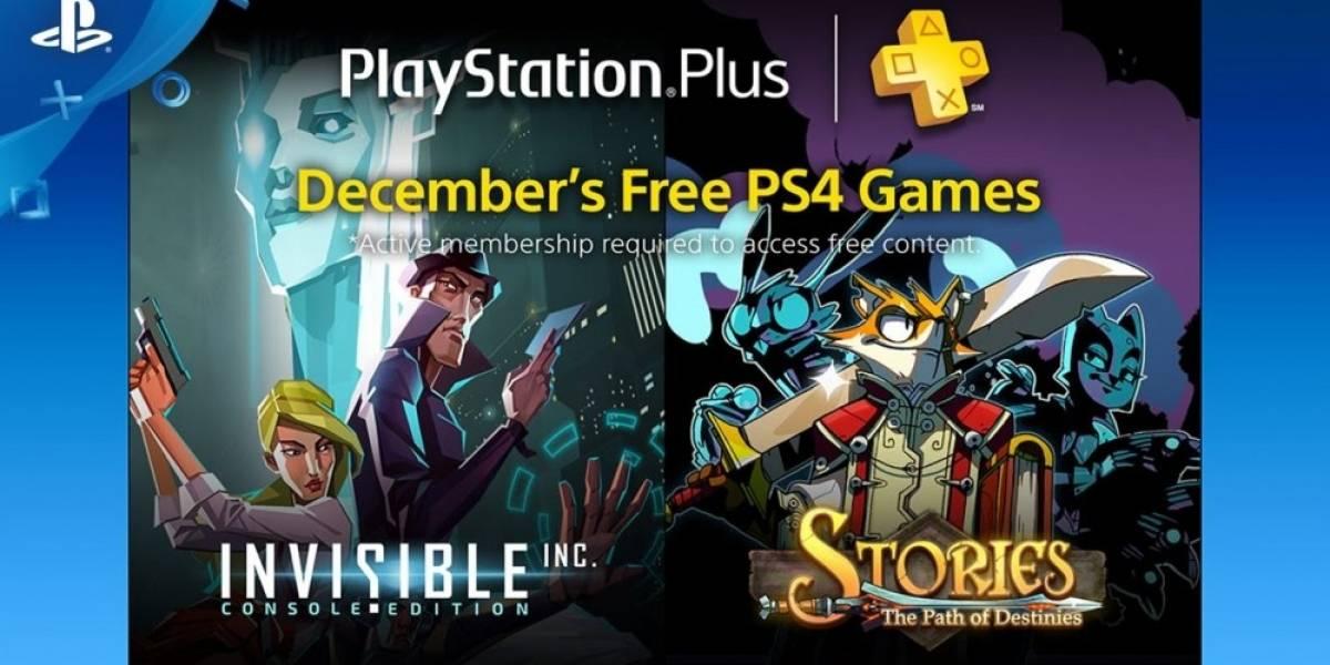 Estos son los juegos de PlayStation Plus para diciembre