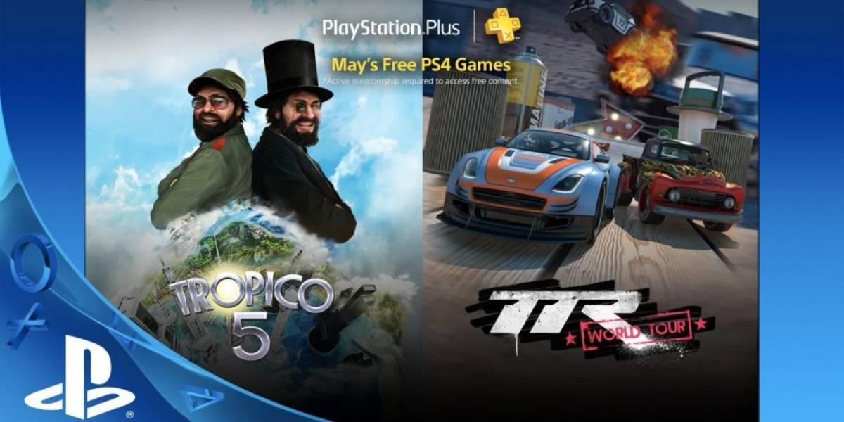 Estos son los juegos de PlayStation Plus para mayo
