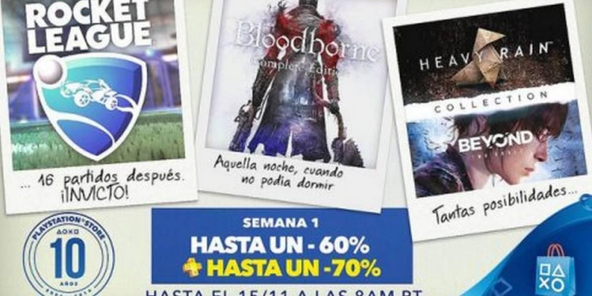 PlayStation Store tiene Venta Especial de Décimo Aniversario