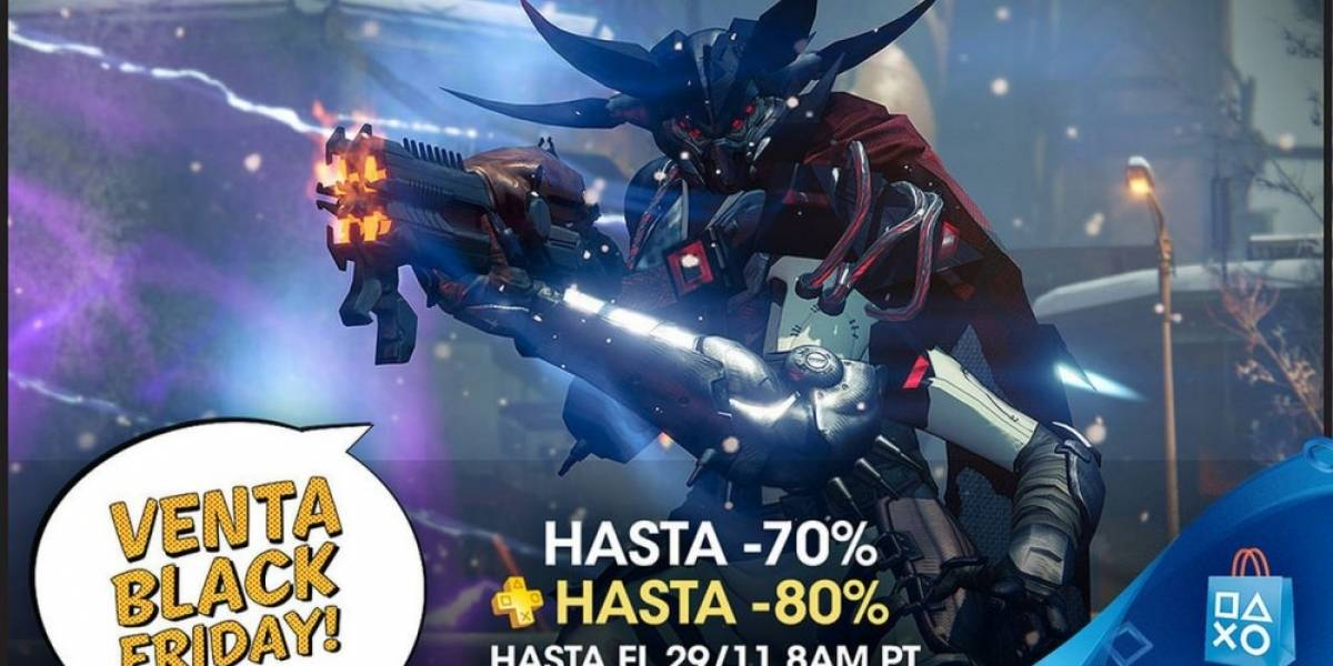 Ya comenzaron las ofertas de Black Friday en PlayStation Store