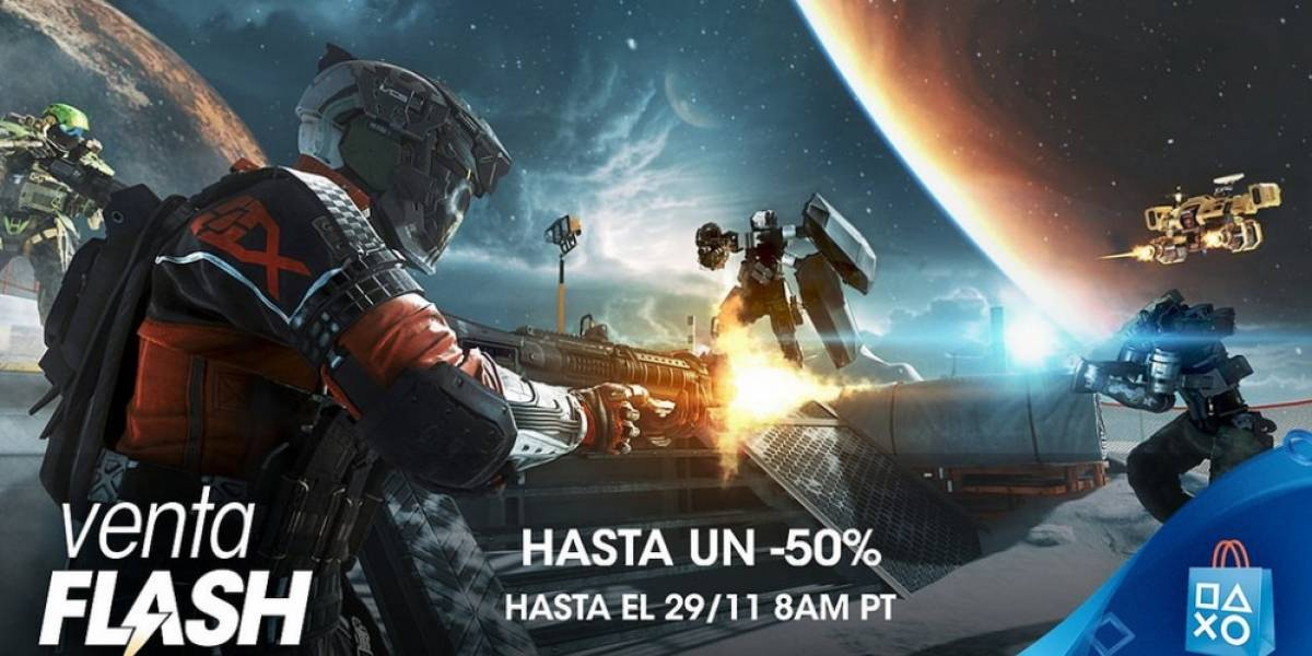 PlayStation Store tiene Venta Flash de Black Friday