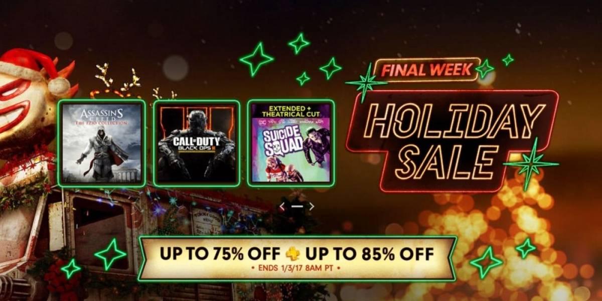 Comienza la última semana de la Venta Navideña en PlayStation Store