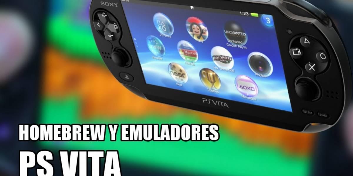 La Previa: Así corren emuladores en la PS Vita