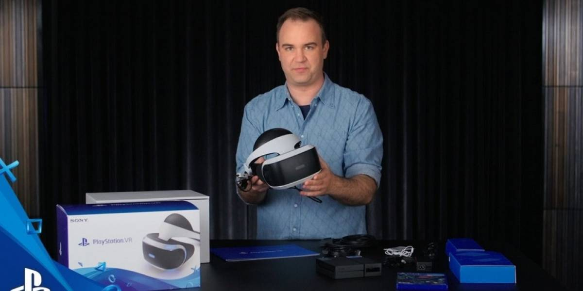 Sony presenta Unboxing del PlayStation VR