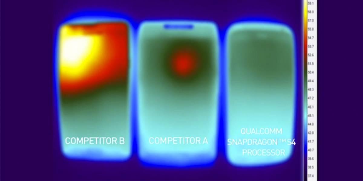 Qualcomm pone a prueba la disipación térmica de su plataforma Snapdragon S4