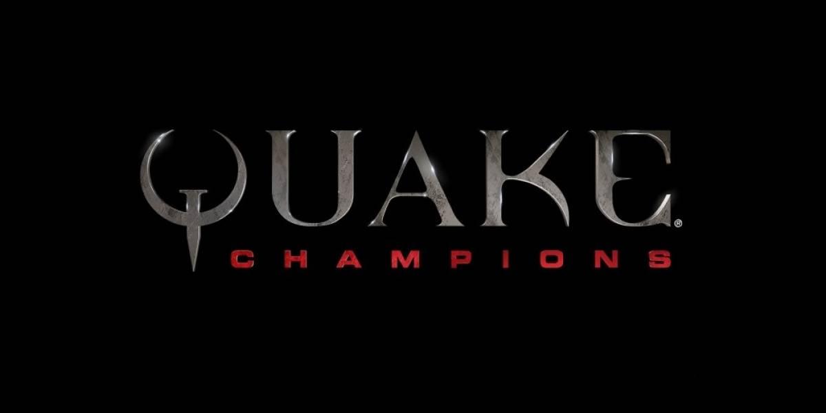 Quake está de regreso con Quake Champions #E32016