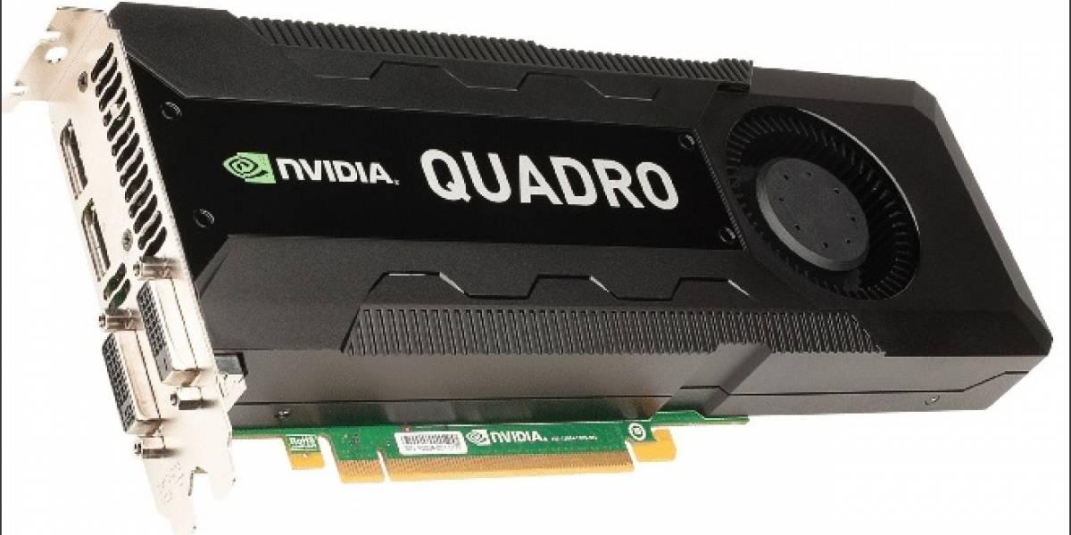 NVIDIA anuncia su nuevo GPU Quadro K5000 para el sector profesional