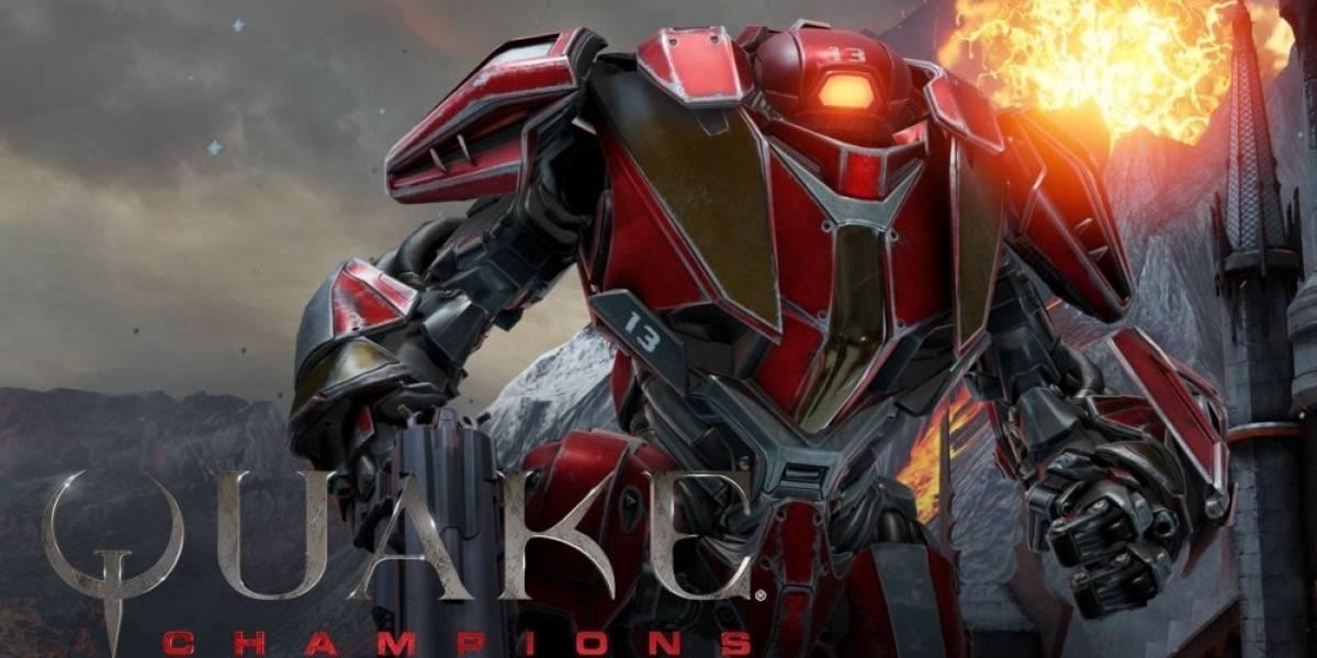 Nuevo video de Quake Champions nos presenta a Clutch