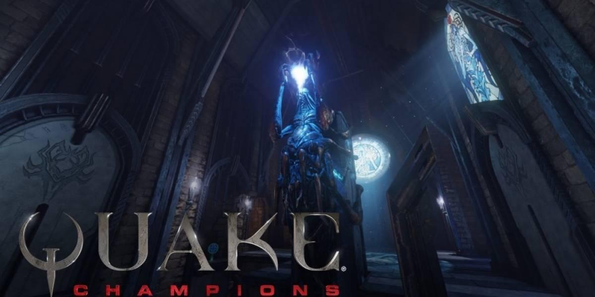 Un vistazo al mapa Blood Covenant en el nuevo tráiler de Quake Champions