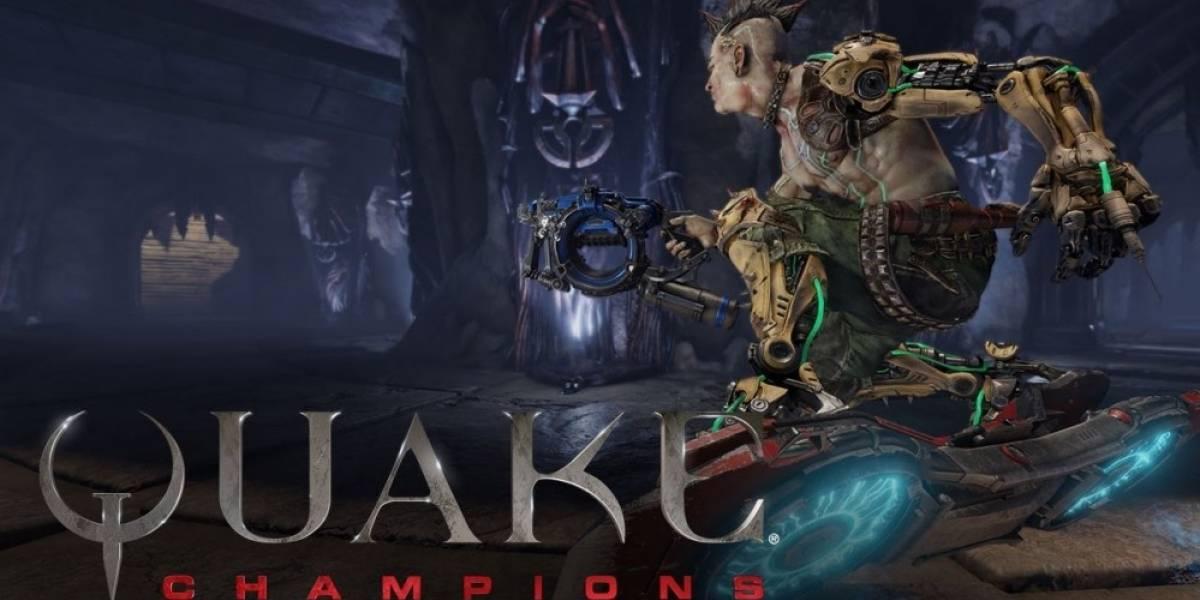 Quake Champions estrena tráiler centrado en su jugabilidad