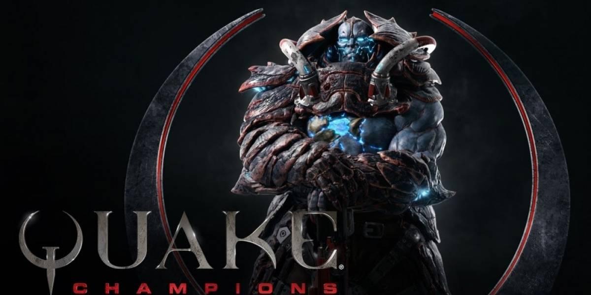 Nuevo tráiler de Quake Champions nos presenta a Scalebearer