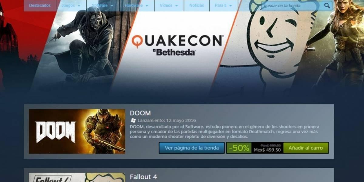 Steam también tiene venta especial de QuakeCon