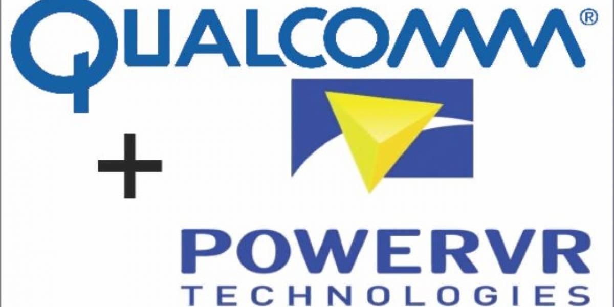 Qualcomm licencia tecnologías gráficas de PowerVR