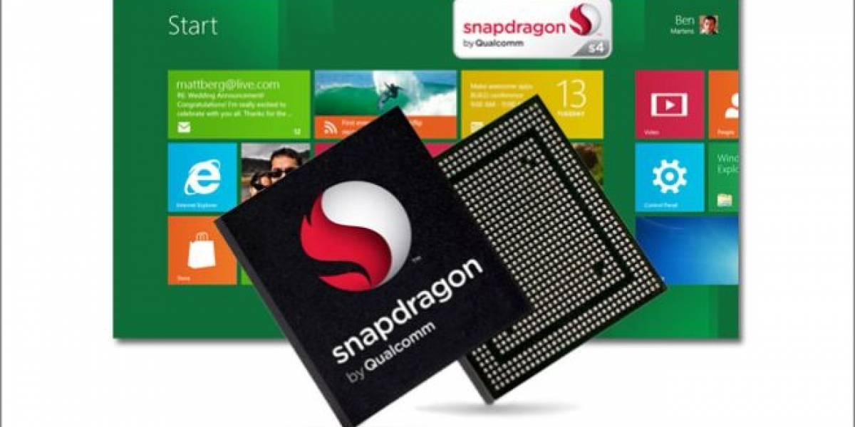 Qualcomm: Notebooks basadas en Snapdragon S4 ya están en producción