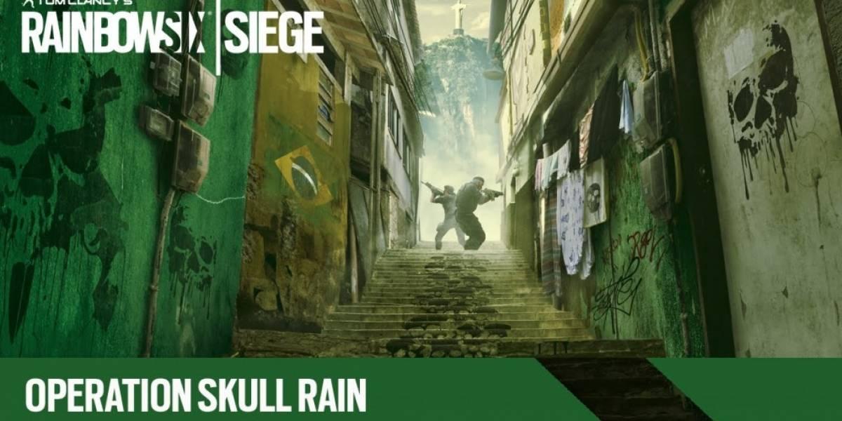 Vean a los dos nuevos operadores de Rainbow Six Siege en acción