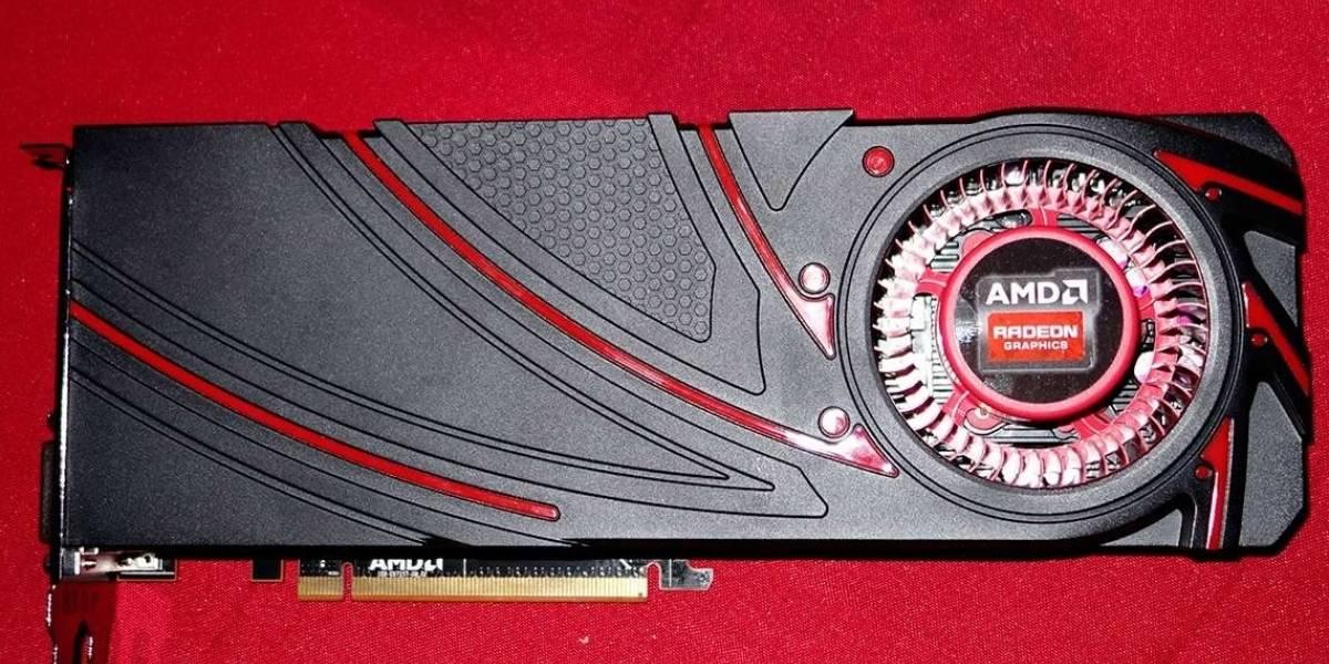 AMD Radeon R9 290X modelo final se muestra ante las cámaras