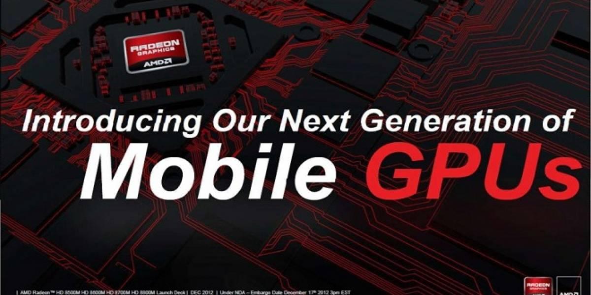 AMD anuncia sus GPUs Radeon HD 8000M Series para portátiles