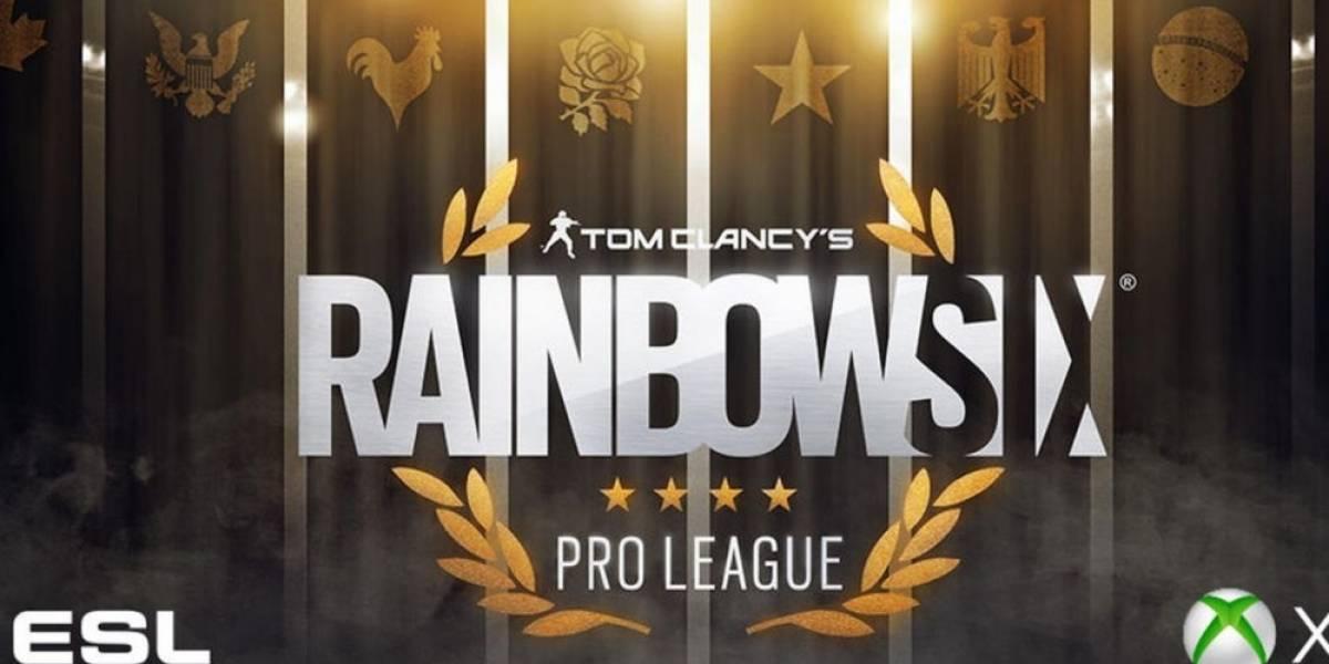 Se anuncia Rainbow Six Pro League