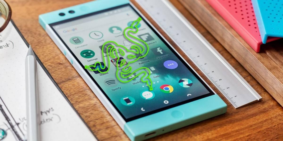 Razer desarrolla un dispositivo móvil inteligente para lanzar este 2017