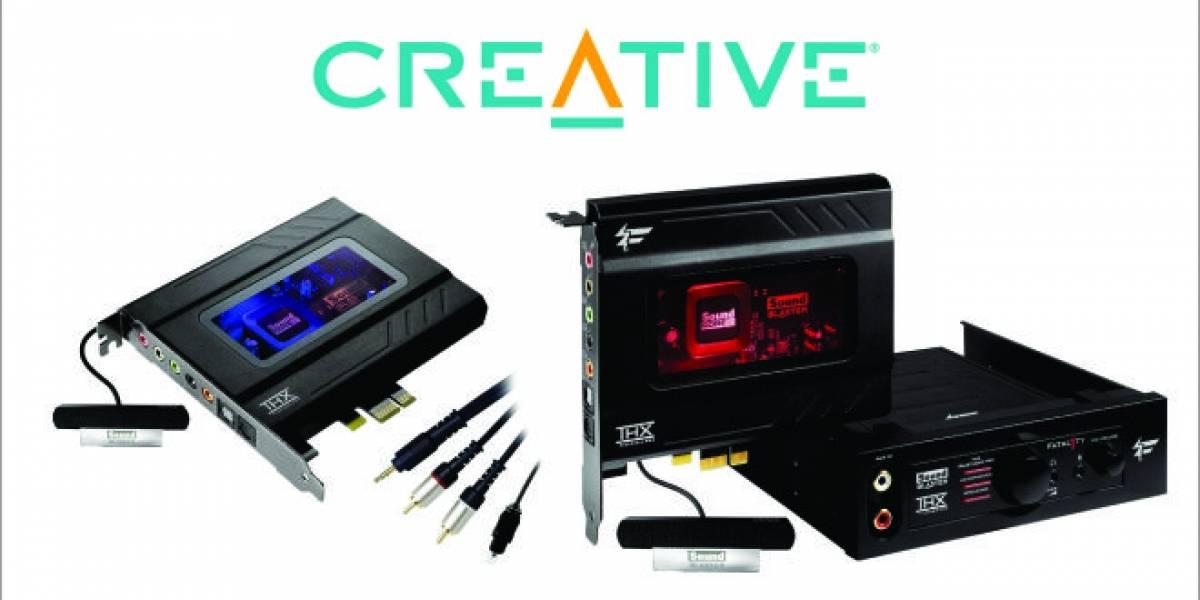 Creative Labs anuncia 2 nuevas tarjetas de sonido Recon3D