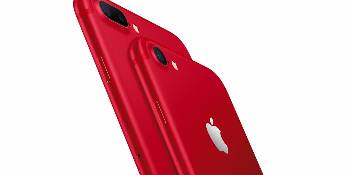 (ACTUALIZADO) Apple anuncia el iPhone 7 en color rojo