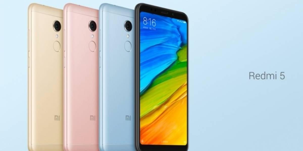 Xiaomi oficializa sus nuevos Redmi 5 y Redmi 5 Plus