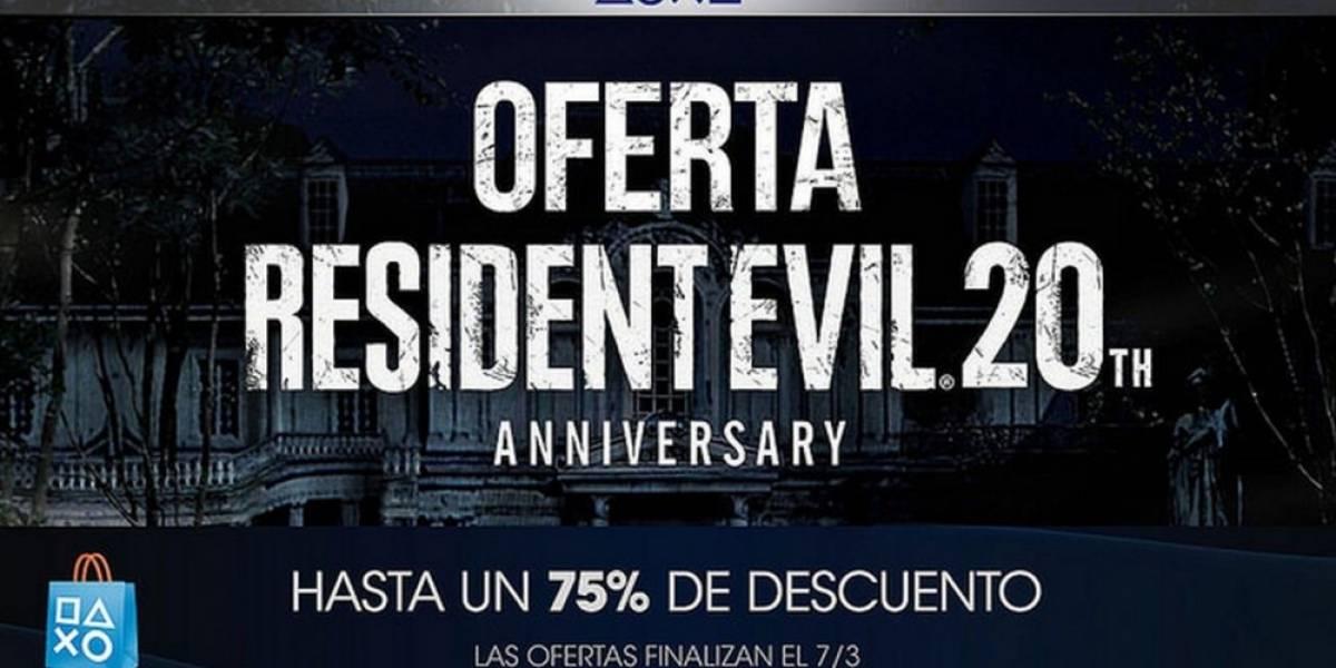 PlayStation Store tiene venta especial del 20 Aniversario de Resident Evil