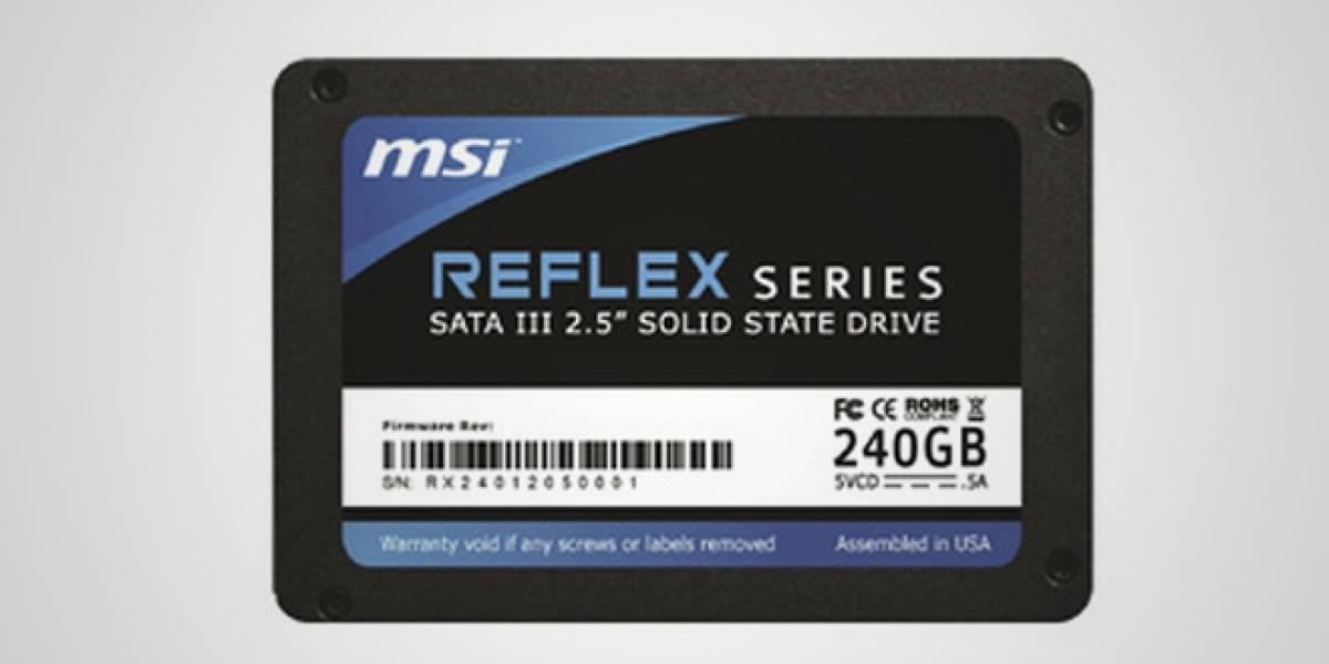 MSI entra en gloria y majestad al rubro de los SSD