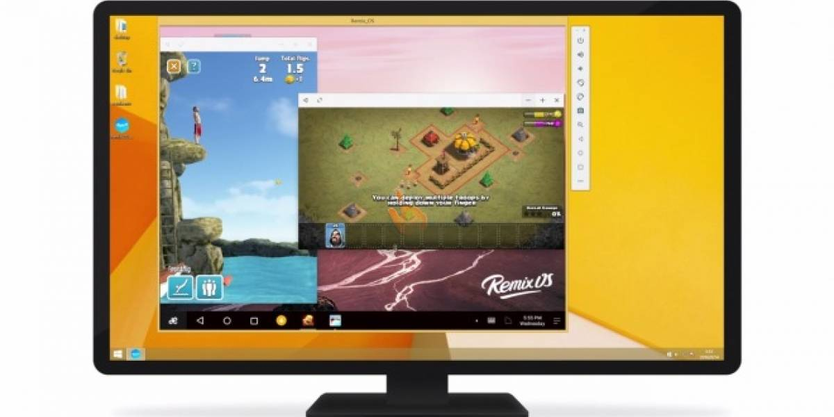 Remix OS ahora disponible como máquina virtual para Windows