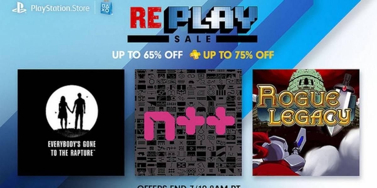 Venta Re-PLAY con descuentos de hasta el 65% en PlayStation Store