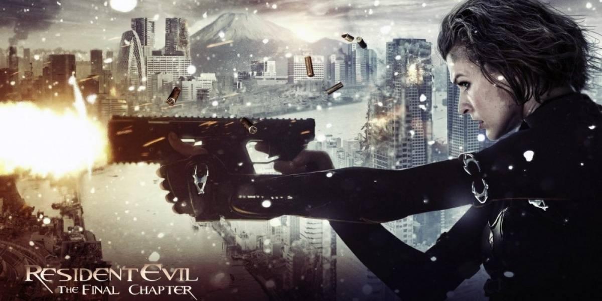 Mira el nuevo tráiler de Resident Evil: The Final Chapter