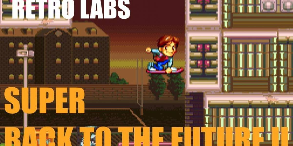 Retro Labs: Super Back to the Future II #B2TFDAY