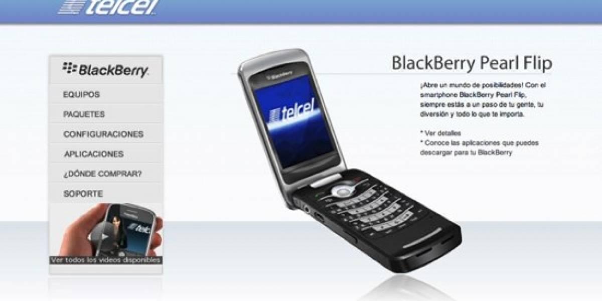 RIM y Telcel lanzan sitio para usuarios de BlackBerry