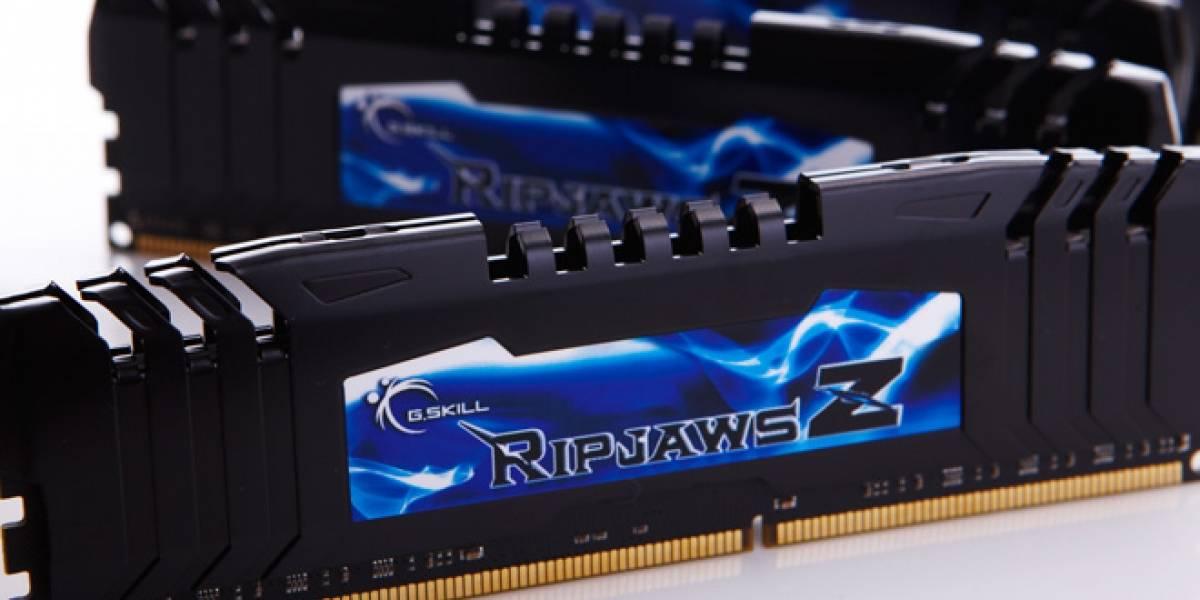 G.Skill lanza kit DDR3 de 64GB corriendo a 2400MHz