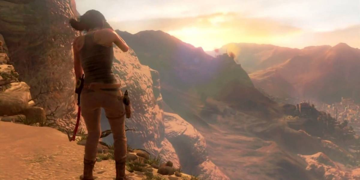 Así se ve Rise of the Tomb Raider en Xbox 360