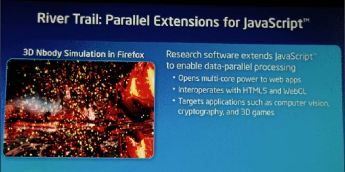 Intel muestra su motor JavaScript River Trail