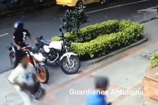 Robo de motos Medellín