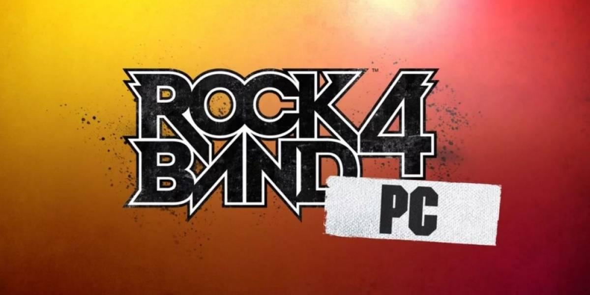 Rock Band 4 no se lanzará en PC