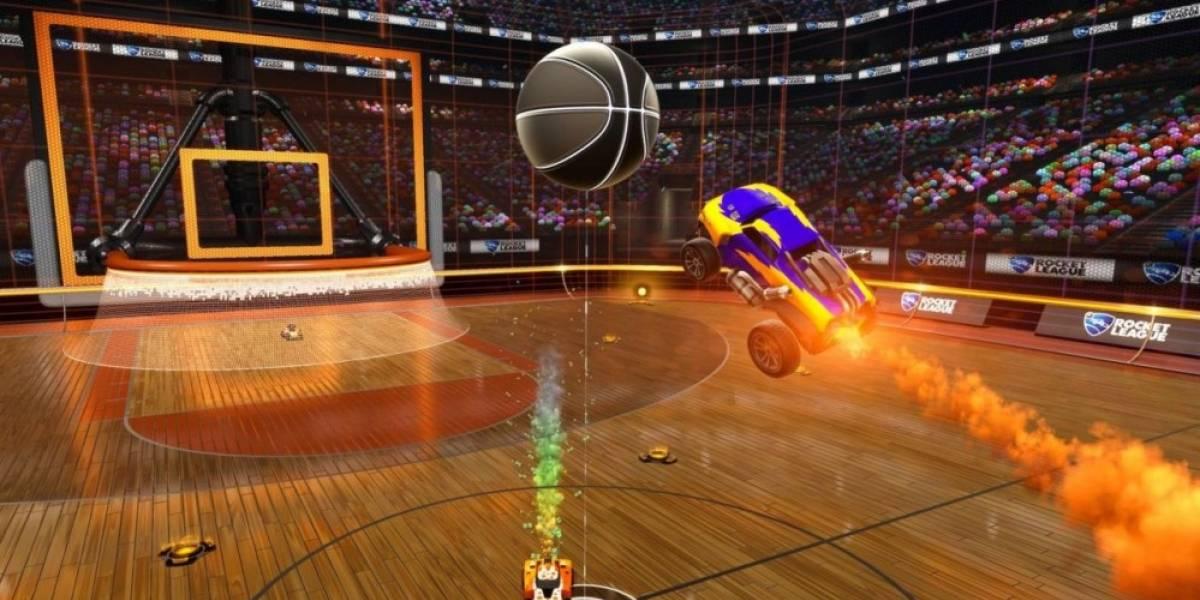 Rocket League muy pronto recibirá el modo basquetbol