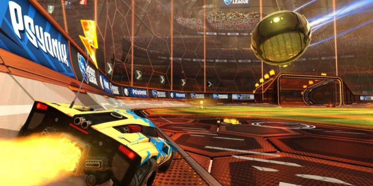Juega Rocket League gratis durante el fin de semana en Steam