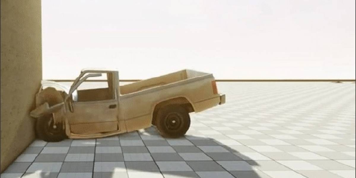 Impresionante demostración del motor de físicas Beam Physics System de CryEngine 3