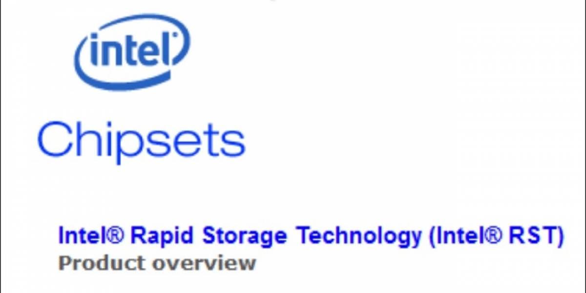 Chipsets Intel X79 reciben por fin compatibilidad con Rapid Storage Technology