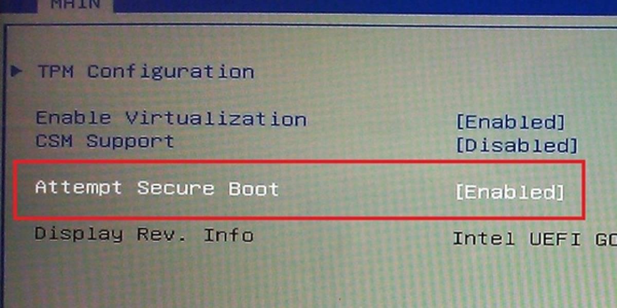 Microsoft obligará a tener activado Secure Boot en hardware basado en ARM