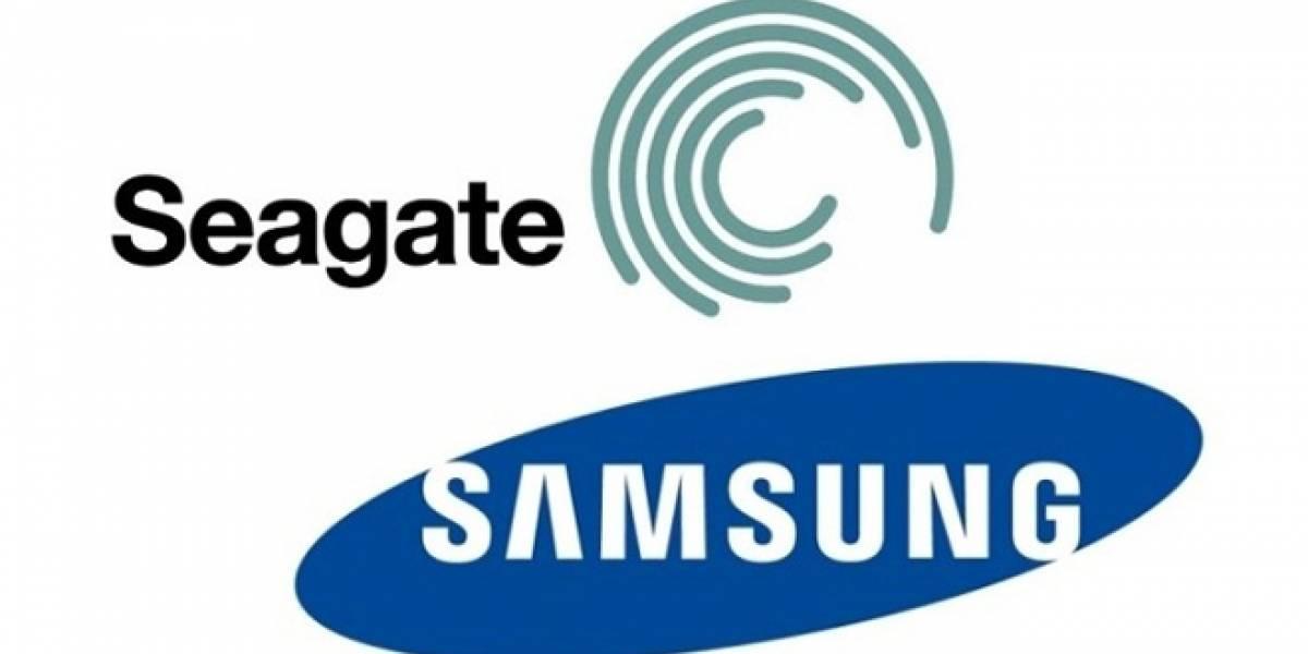 La fusión entre Seagate y la división de discos duros de Samsung finaliza con éxito