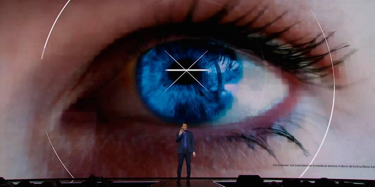 El iris y reconocimiento facial desplazan a las huellas digitales en el Galaxy S8