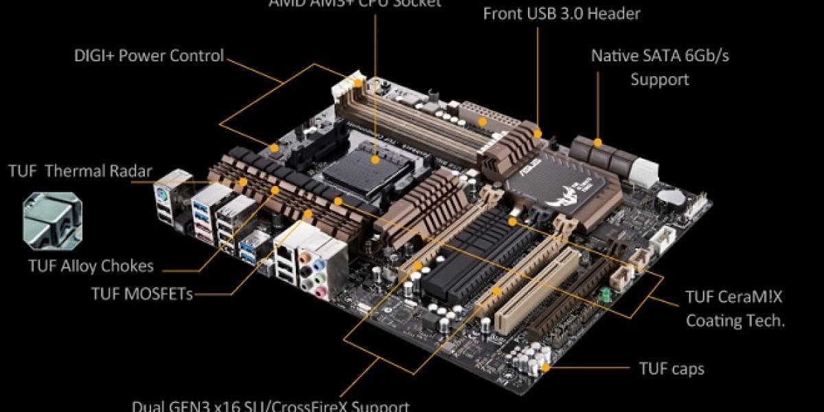 ASUS anuncia su nueva tarjeta Sabertooth 990FX/GEN3 R2.0