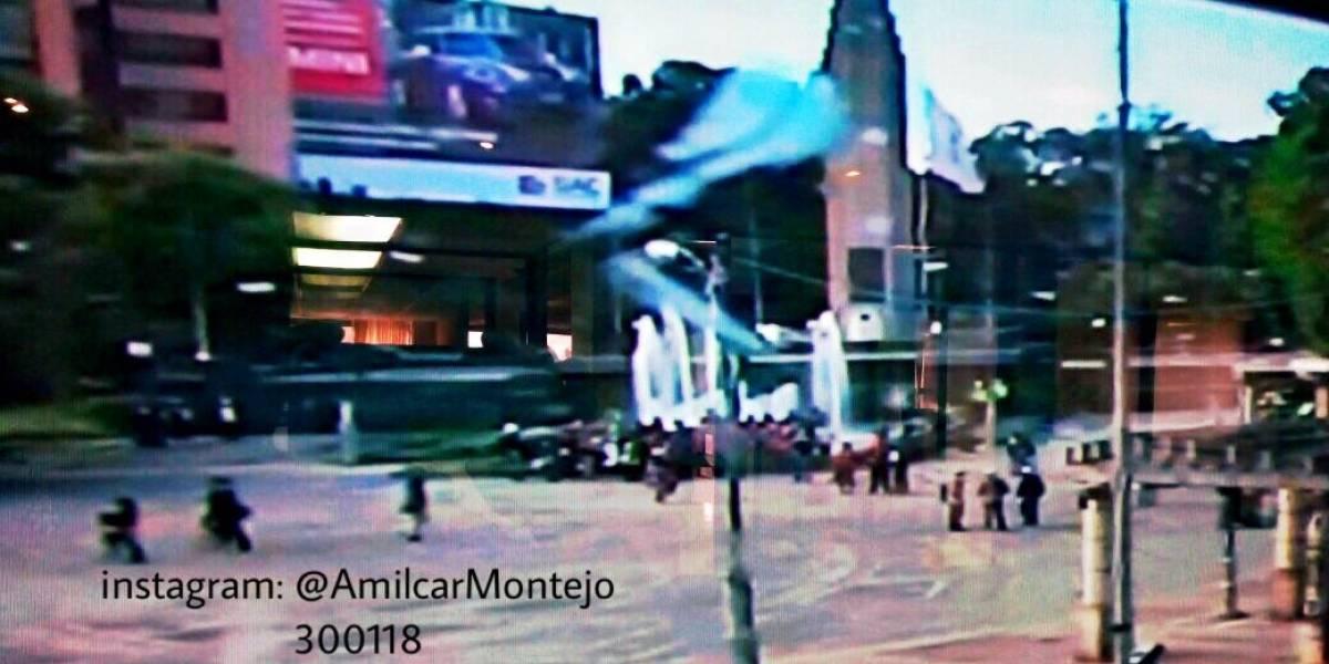 Salubristas realizan movilización en la capital