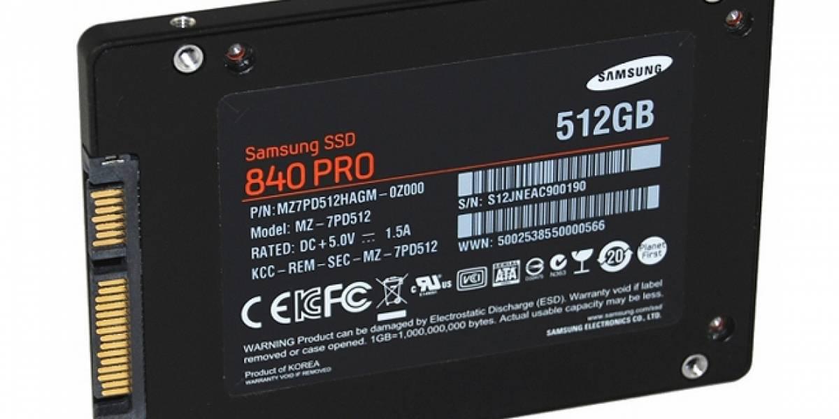 Samsung lanza nuevas unidades de estado sólido 840 Series