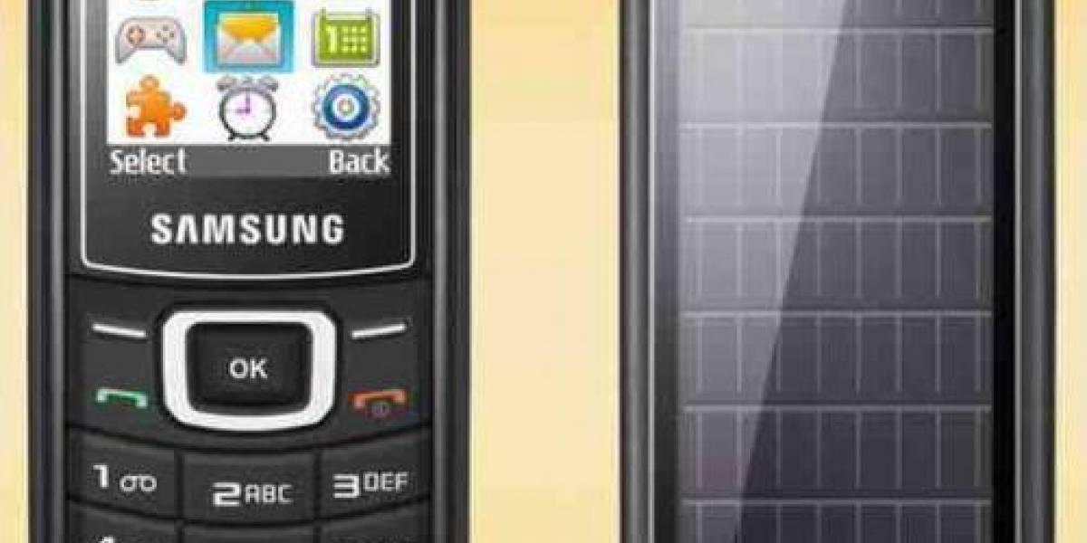 Solar Guru E1107: El primer celular solar comercial de Samsung