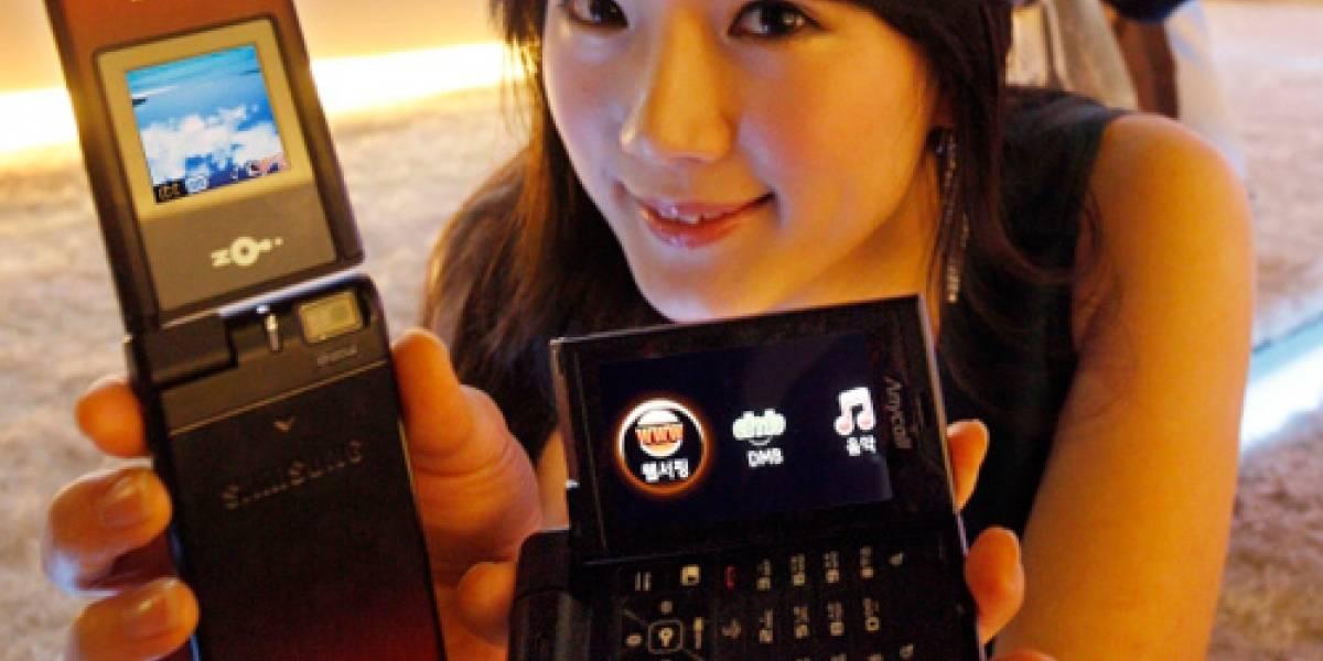 Samsung SPH-W6450: Con flip rotatorio para ver televisión